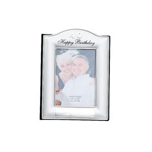 PHOTO FRAME 40TH BIRTHDAY
