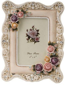 Photo Frame Resin Celia 4X6""
