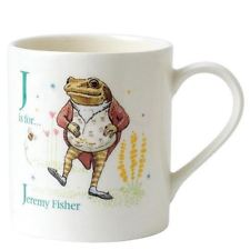 PETER RABBIT ALPHABET MUGS - LETTER J