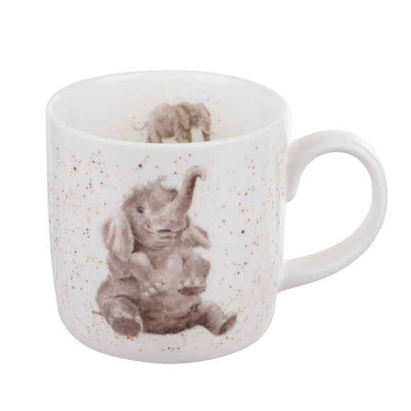 Royal Worcester Wrendale Designs - 0.31L/11Fl.oz Elephants Mug