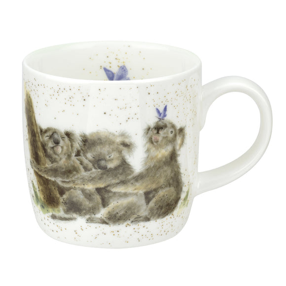Royal Worcester Wrendale Designs - 0.31L/11Fl.oz Koalas Mug