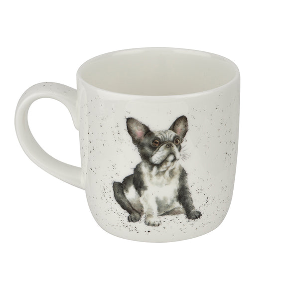 Royal Worcester Wrendale Designs - 0.31L/11Fl.oz French Bulldog Mug