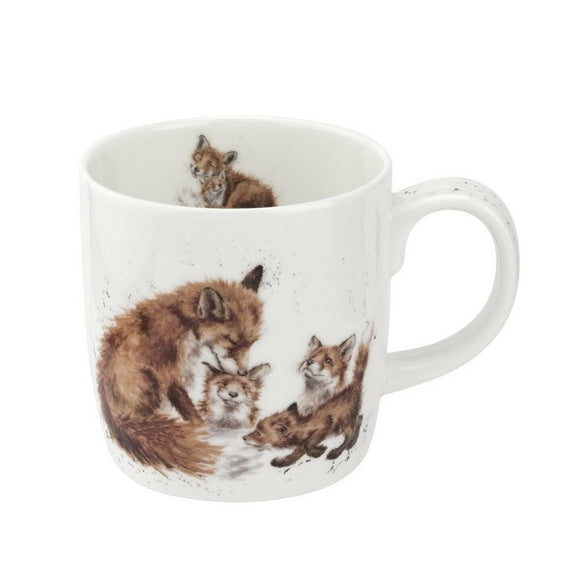 Royal Worcester Wrendale Designs - 0.31L/11Fl.oz Foxes Mug