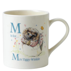PETER RABBIT ALPHABET MUGS - LETTER M