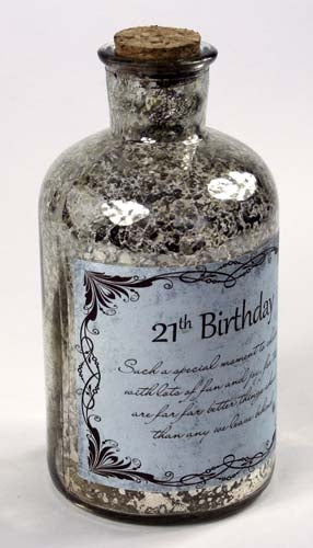 Message In The Bottle - 21st Birthday