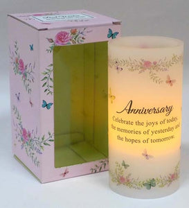 Scented Wishes Led Candle Anniversary