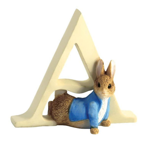Beatrix Potter Alphabet Letter A - Peter Rabbit