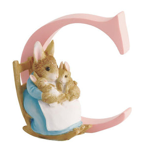 Beatrix Potter Alphabet Letter C - Mrs. Rabbit and Bunnies
