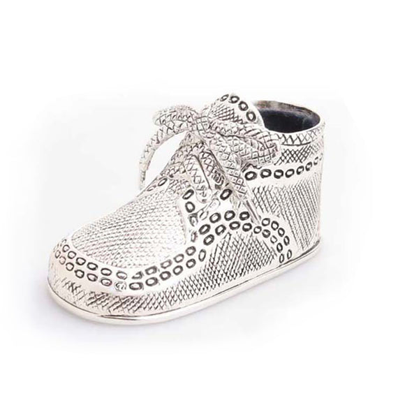 Whitehill Baby - Silverplated Birth Record Shoe