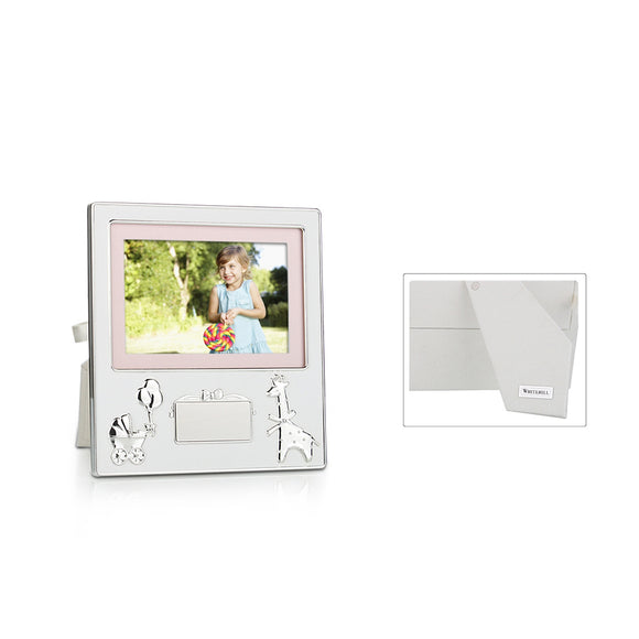 Whitehill Baby - Engravable Plaque Baby Photo Frame 10cm x 15cm
