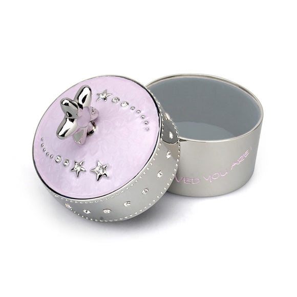 Whitehill Baby - Pink Star Baby Musical Box