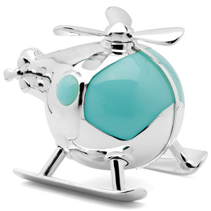 Whitehill - Helicopter Money Box Blue