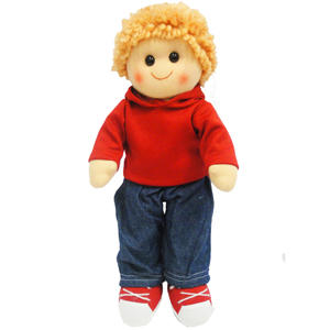 Hopscotch Collectibles Rag Doll – Elliot 35cm