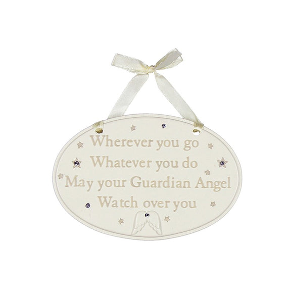 WHEREVER YOU GO PLAQUE BAMBINO CG1114