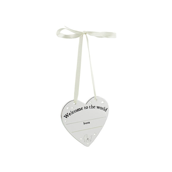 Welcome to Hanging Plaque Bambino CG949