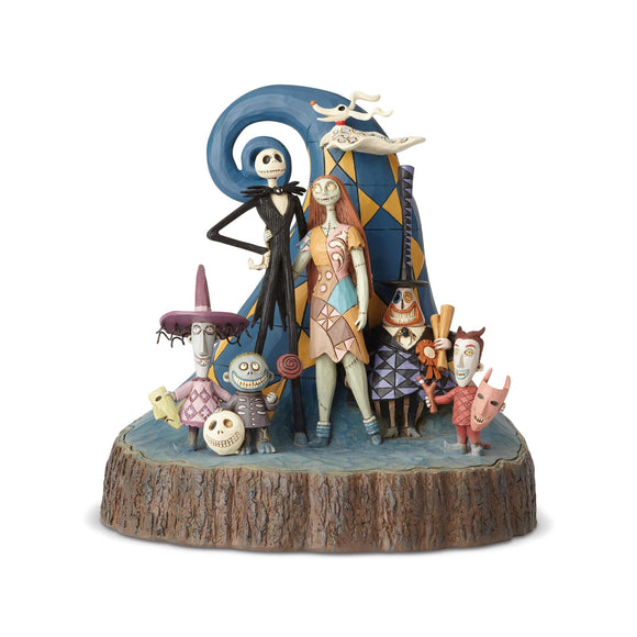 Disney Traditions-Nightmare Carved By Heart ( H20.3cm)