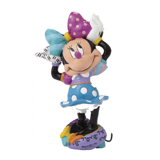 Britto Disney Mini Figurine Minnie Mouse Arms Up 8cm