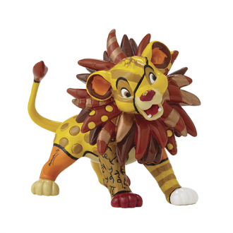 Britto Disney  Simba Mini Figurine