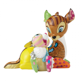 Britto Disney - Bambi & Thumper Figurine Medium