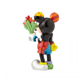 Britto Disney - Mickey Mouse With Flower Figurine (H 20cm)