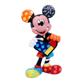 Britto Disney - Mini Figurine Mickey Holding Heart