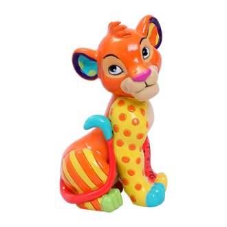 Britto Disney - Mini Figurine Simba Sitting