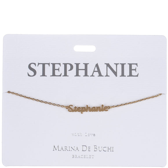 Personalized Luxe Name Bracelet
