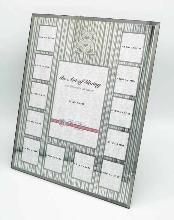Mirrored Photo Frame - Cherished Moment 1ST