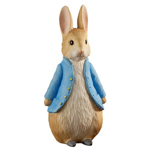 Beatrix Potter Large FigurinePeter Wears A Jacket and Shoes