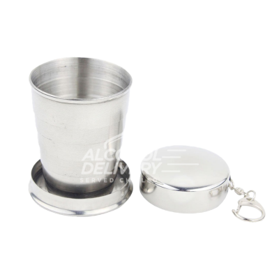 Stainless Steel Retractable Shot Glass