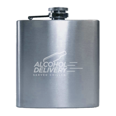 Stainless Steel Hip Flask 7oz