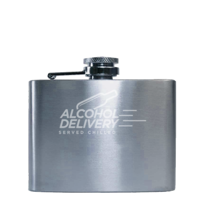 Stainless Steel Hip Flask 4oz