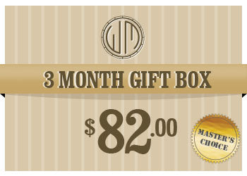 $82 Whisky Master Gift Box (3 Months)
