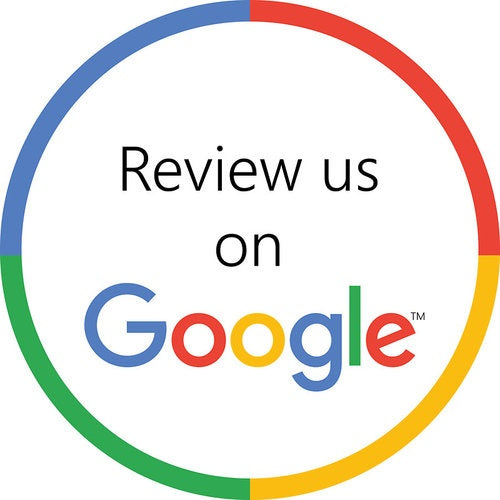You can now review us on Google...