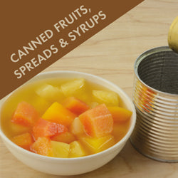 Canned Fruits, Spreads & Syrups