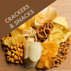 Crackers, Cereals & Snacks