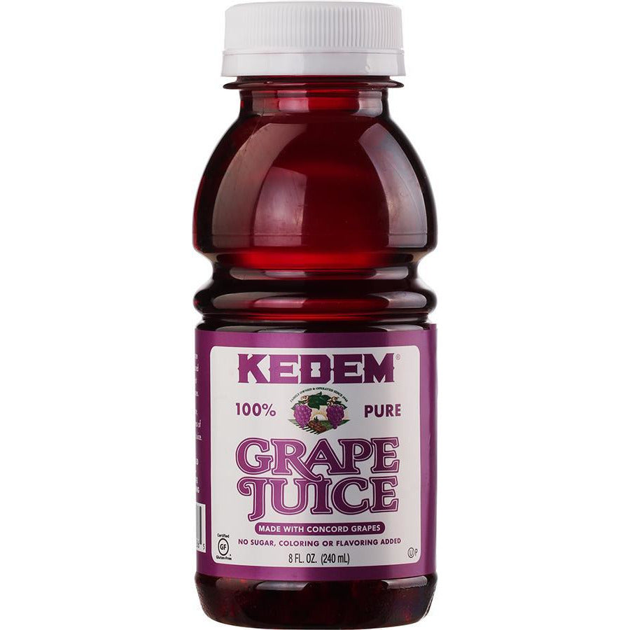 Kedem Concord Grape Juice Mini Plastic Bottle 240Ml