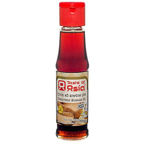 Taste Of Asia Sesame Oil Unrefined 150Ml
