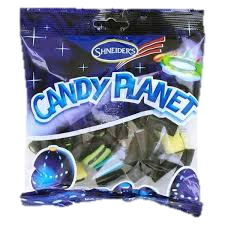 Candy Planet Liquorice Mix 200G
