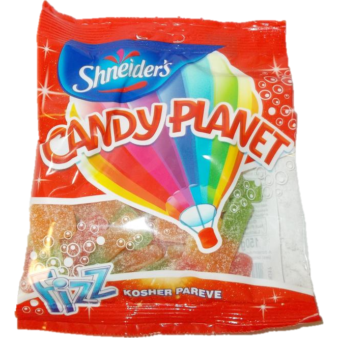 Candy Planet Sour Fries 150G