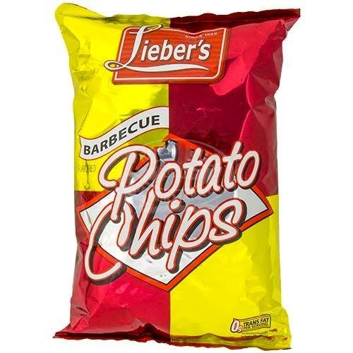 Liebers Bbq Chips Large 255g