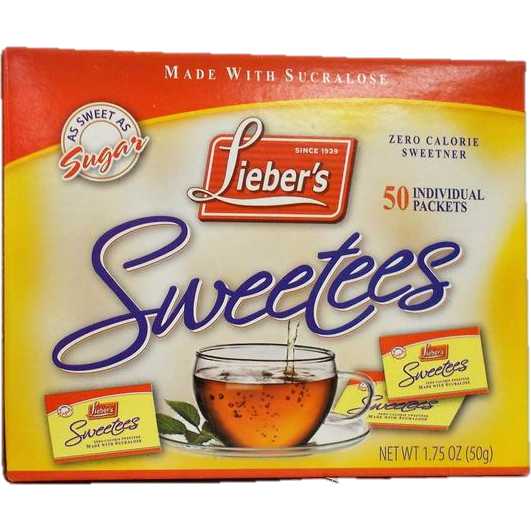 Liebers Sweetees Sweeteners 50 X 1G