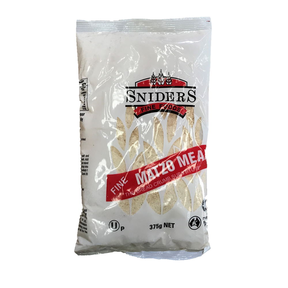 Sniders Fine Matzo Meal 375G