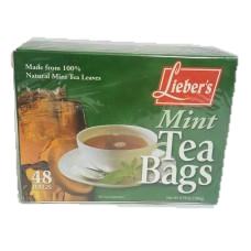 Liebers Mint Tea Bags 48 Pack