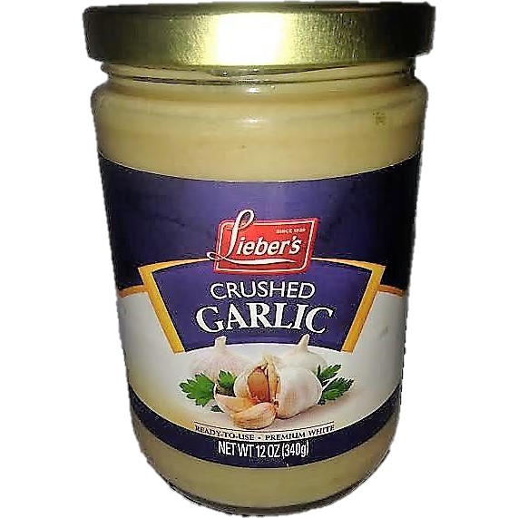 Liebers Crushed Garlic 340G