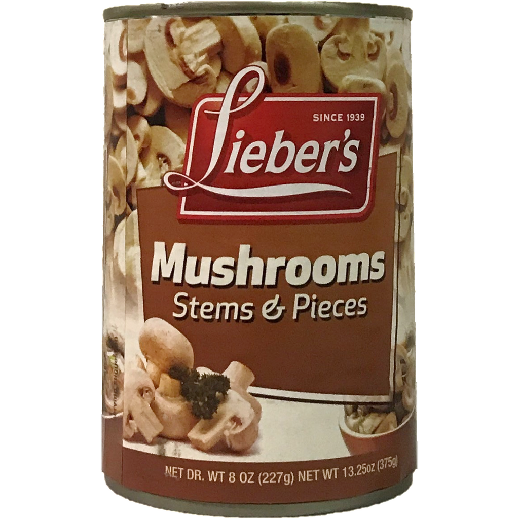 Liebers Stems & Pieces Mushrooms 375G