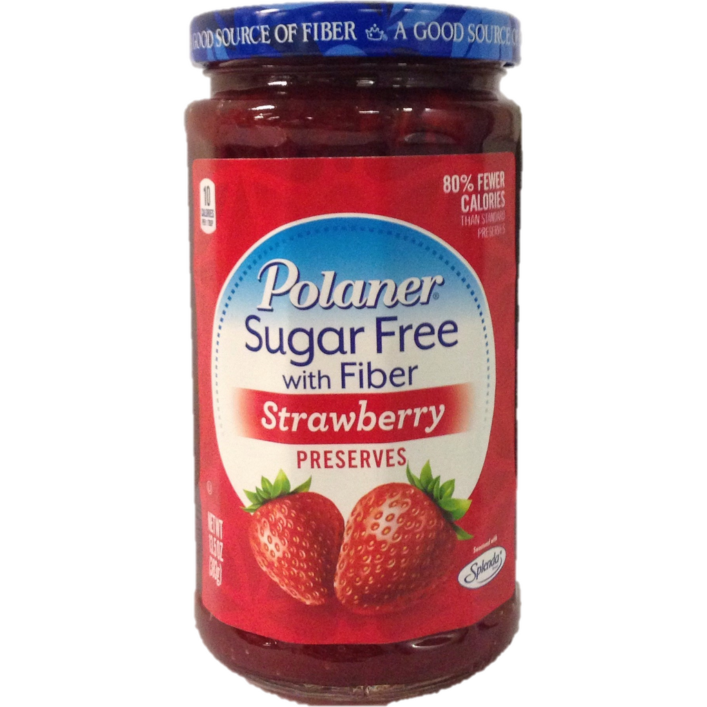 Polaner Sugar Free Strawberry Jam 383G
