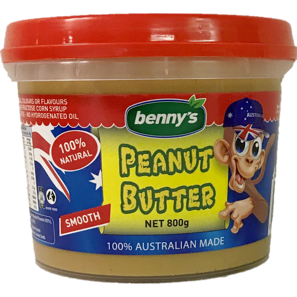 Benny's Peanut Butter Smooth 800G