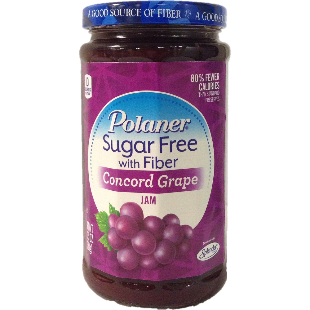 Polaner Sugar Free Concord Grape Jam 383G