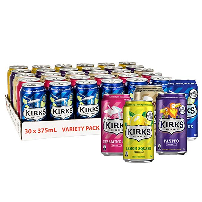 Kirks Originals Variety 30 Can Pack